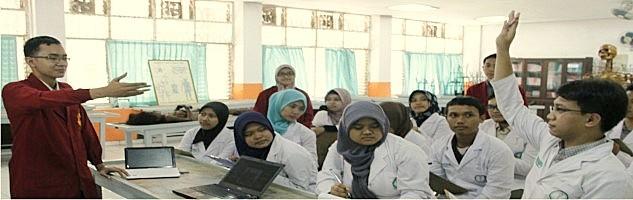 Interaktif LearningTentiran terdiri dari tentiran bebas dan tentiran saat praktikum yang diberikan oleh Dosen dan Asisten Laboratorium